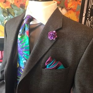 🔥SALE🔥Calvin Klein 3 buttons olive sport coat